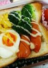 詰めパン♥簡単なのに豪華で満腹お弁当