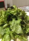 レタスのやみつきサラダ