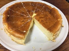 かんたん糖質制限チーズケーキ