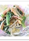 【なんたん・かんたん】小松菜のサラダ