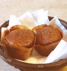 イチゴフレーバー☆チョコカップケーキ