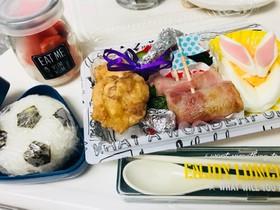 遠足のお弁当★イースター★デビルドエッグ