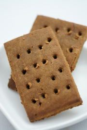 ノンオイル♡きな粉黒糖♡クッキーの写真