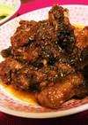 圧力鍋でイノシシ肉の赤ワイン煮込み