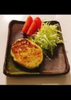 低脂質 ♬ ササミとキャベツハンバーグ