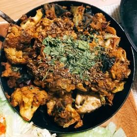 中華xインド!木耳と鯖缶のスパイスカレー