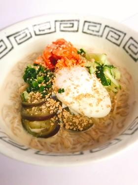 ふるる冷麺で簡単コングクス(韓国豆乳麺)