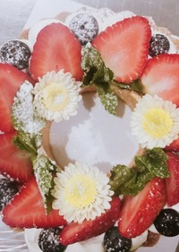春爛漫✿花輪の様なフルーツタルト