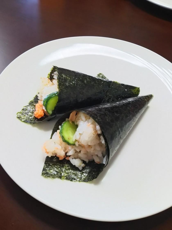 お手軽手巻き寿司