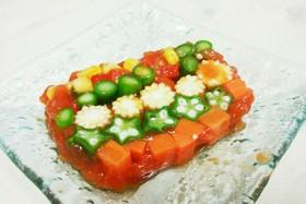 簡単!野菜ジュース de 野菜のテリーヌ