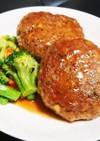 簡単 豆腐ハンバーグ (照り焼き風味)