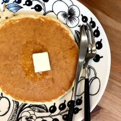 1回焼きすぐ出来る♡簡単!餅パンケーキ♡
