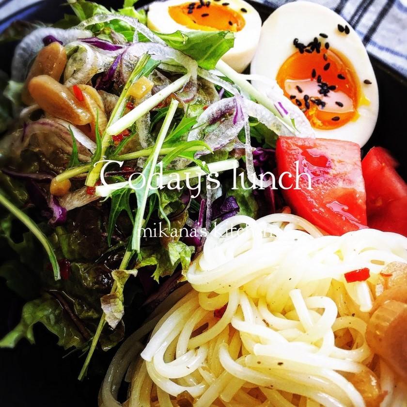 ☆簡単☆和風サラダ素麺♪♪