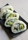 大葉の裏巻き寿司