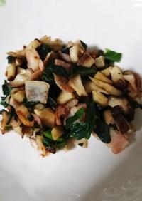 ☆離乳食・完了期☆野菜とベーコンの炒め物