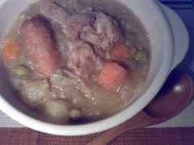 オランダ料理☆エルテンスープ
