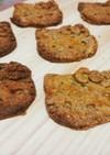 脱ガチガチ感。南瓜の米粉きなこクッキー