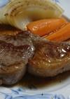 お気楽☆ラム肉ステーキ