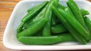 簡単・スナップえんどう豆の塩バター炒めの写真