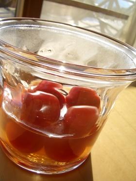 プチトマトのはちみつレモン黒酢マリネ