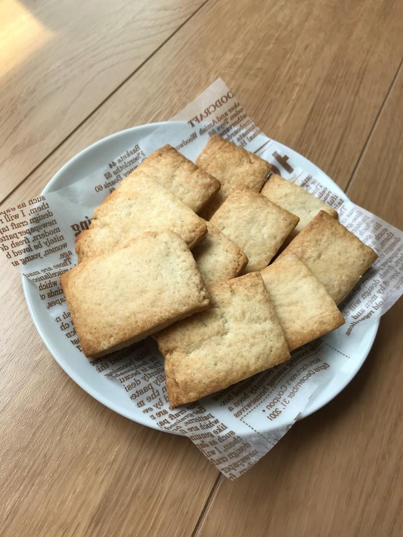 簡単★さくさくクッキー。バター・卵不要