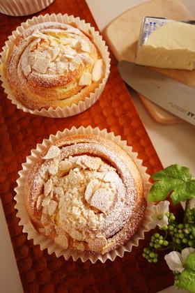 クリームチーズマーブルパン(HB使用)