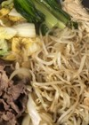 ★妊婦メシ★野菜たっぷりすき焼き