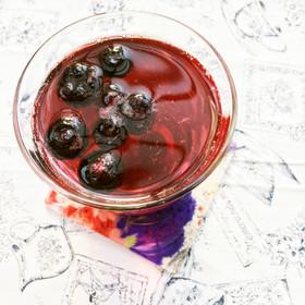 暑いので、サワードリンク~りんご黒酢で