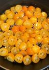 金柑の甘露煮。金柑酵母パンも作りました。