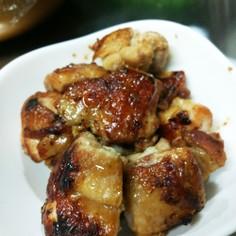 ごはんがすすむ!鶏肉のにんにく醤油焼き