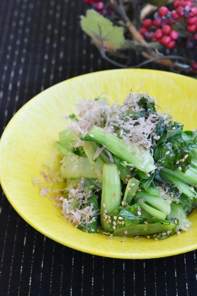 チンゲン菜のうま塩ナムル【作り置き】