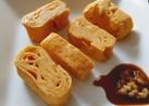 甘い卵焼きの食べ方⭐生姜醤油付けて食べる