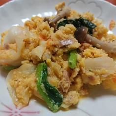 お弁当に☆野菜たっぷり!ツナきゃべ玉チー