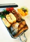 お弁当(5/2)★塩鯖唐揚カレー風味弁当