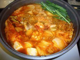 冬の定番 キムチ鍋