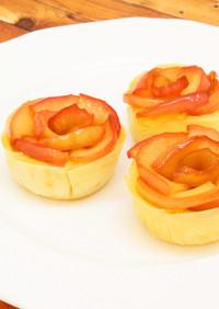 バラの花咲く*りんごのタルト