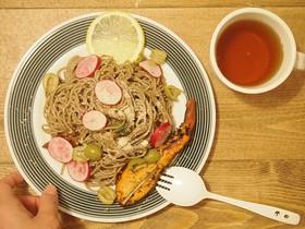 アンチエイジング蕎麦サラダ