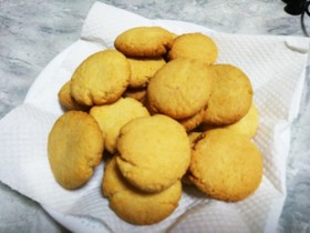 バター不要の落雁クッキー♪