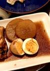 手羽元、大根、卵煮物