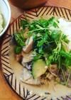 ブリとカジキの簡単グリーンカレー 無水鍋
