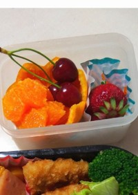 フルーツ飾り切り<オレンジ>