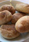 表面カリッと仏パン風、ロールパン。金柑入