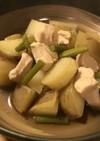 鶏じゃが&ニンニクの芽のあまから煮