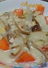 榎茸と野菜のチーズクリーム煮
