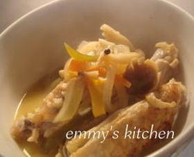 簡単で柔らか♪鶏肉のオレンジ煮