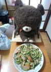 豆腐なしのゴーヤチャンプルー!