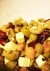 おつまみのような豆サラダ