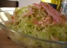 キャベツのサラダ♪オーロラピリ辛ソース
