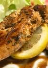 作り置き♡バジル風味のササミソテー