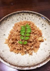 タケノコのふりかけ(煮物リメイク)